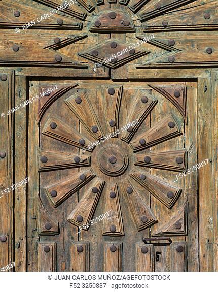 San Juan Church, Moarves de Ojeda, Montaña Palentina, Palencia, Castilla y Leon, Spain, Europe