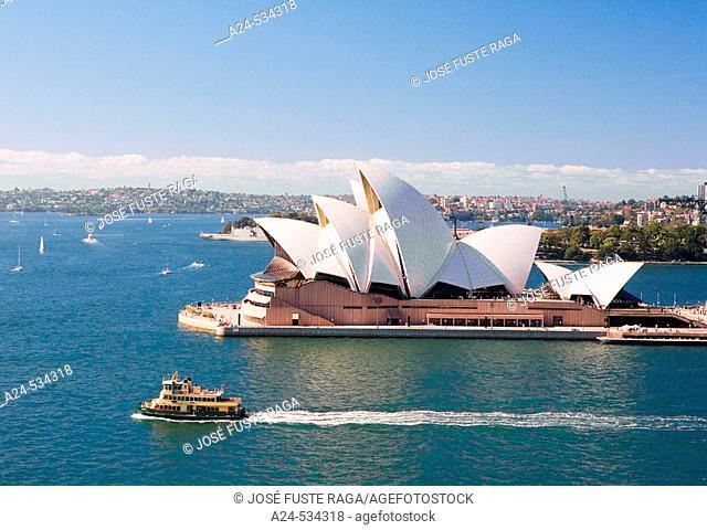 The Opera House. Sydney City. N.S.W. Australia. April 2006