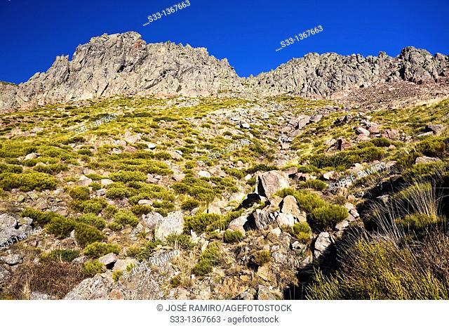 The Becedillas in the Sierra de Gredos  Ávila  Castilla León  Spain