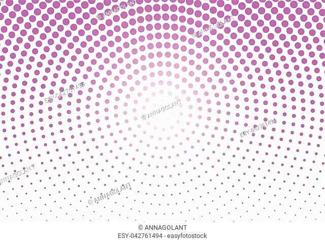 Abstract monochrome halftone pattern. Futuristic panel. Grunge dotted backdrop with circles, dots, point. Design element for web banners, posters, cards