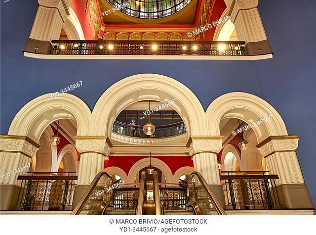 Sydney Australia. Queen Victoria Building Mall