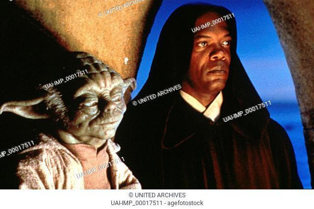 Star wars, (STAR WARS: EPISODE 1 - THE PHANTOM MENACE) USA 1999, Regie: George Lucas, YODA, SAMUEL JACKSON