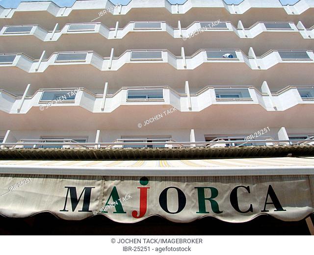 ESP, Spain, Balearic Islands, Mallorca : Cala Bona, hotel