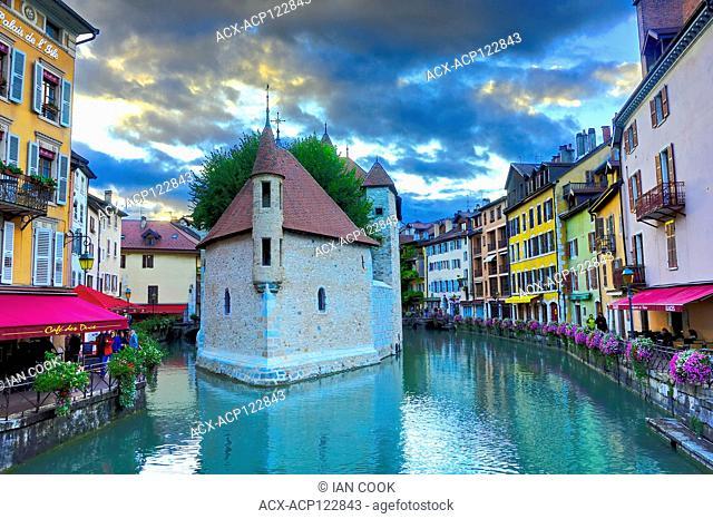 Palais de l'Ile, old town, Annecy, Haute-Savoie department, Auvergne-Rhône-Alpes, France