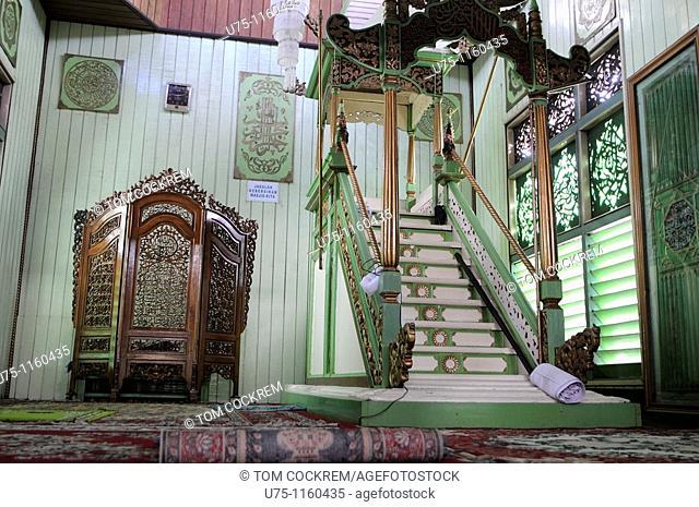 Mesjid Sultan Surian Syah, Banjarmasin, Kalimantan, Indonesia