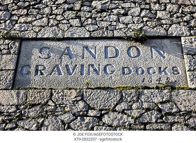 sandon graving docks liverpool docks dockland uk
