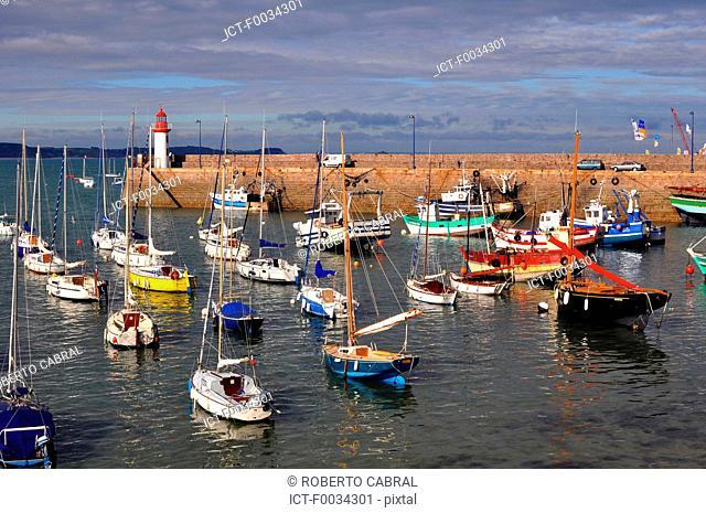 France, Brittany, Erquy