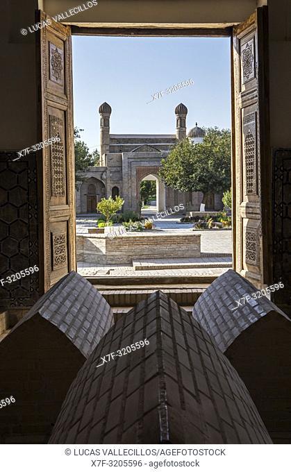 Rukhobod Mausoleum, Samarkand, Uzbekistan