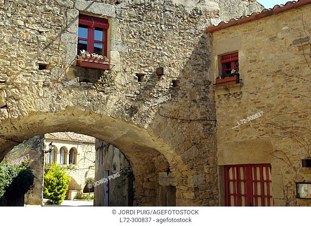 Peratallada. Baix Emporda. Girona province. Catalonia. Spain