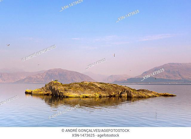 Loch Leven at Sunrise, Scotland