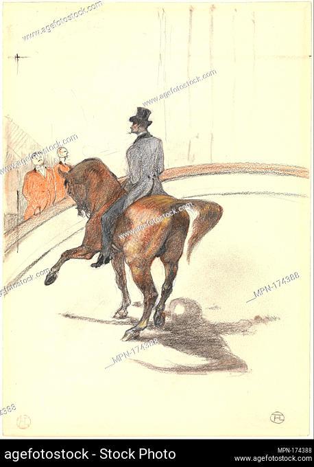At the Circus: The Spanish Walk (Au Cirque: Le Pas espagnol). Artist: Henri de Toulouse-Lautrec (French, Albi 1864-1901 Saint-André-du-Bois); Date: 1899;...