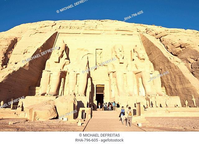 Abu Simbel, UNESCO World Heritage Site, Nubia, Egypt, North Africa, Africa