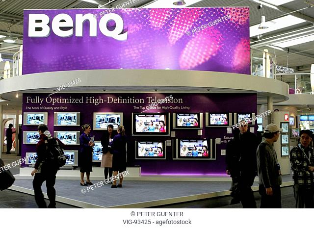 Trade Fair Stands Definition : Screen trade fair cebit stock photos and images age fotostock