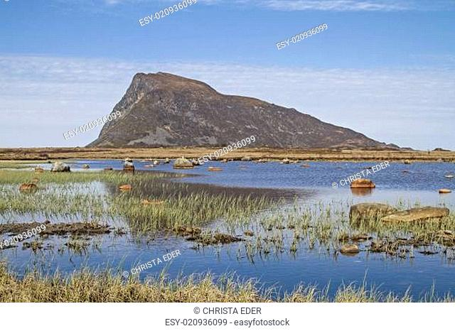 Berg Hoven auf Gimsoya