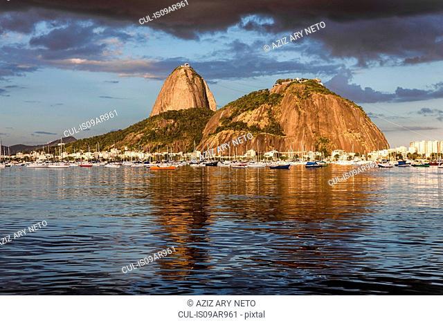 Sugarloaf mountain, Botafogo bay, Rio de Janeiro, Brazil
