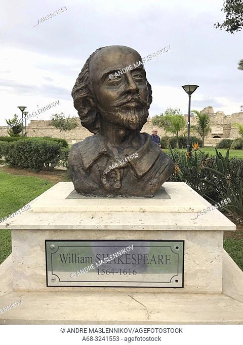 William Shakespear in Nicosia, Cyprus