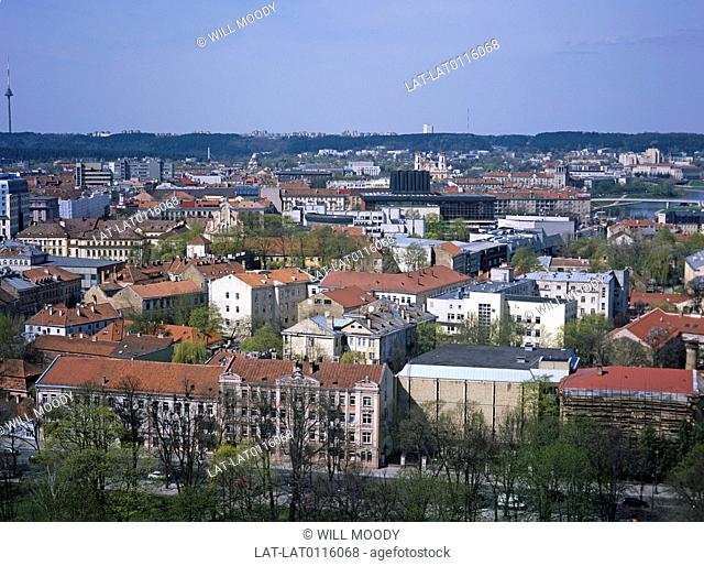 Vilnius is the capital of Lithuania. It is the largest city in the country and is the economic centre. There is a good view over the city from the top of Castle...