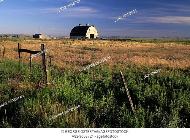 Asotin County Wing Shooters barn, Asotin County, Washington