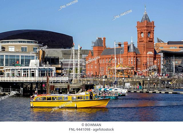Pierhead Building, Cardiff, Wales, UK