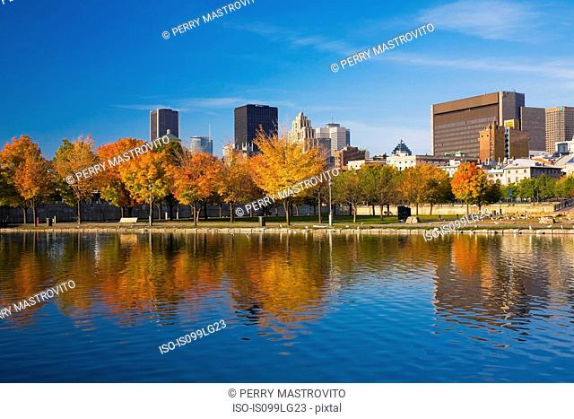 Skyline, Montreal, Quebec, Canada