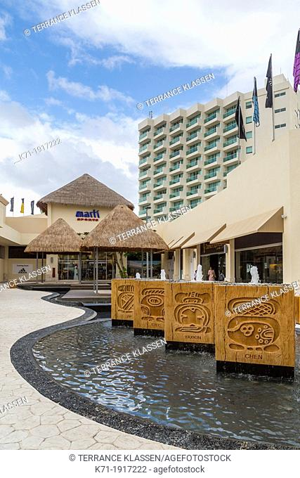 The Park Royal resort and shopping center in Cozumel, Mexico