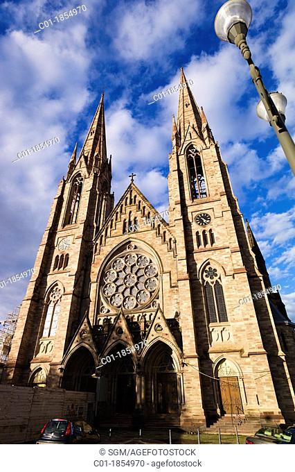 St Paul protestant church Strasbourg Alsace France