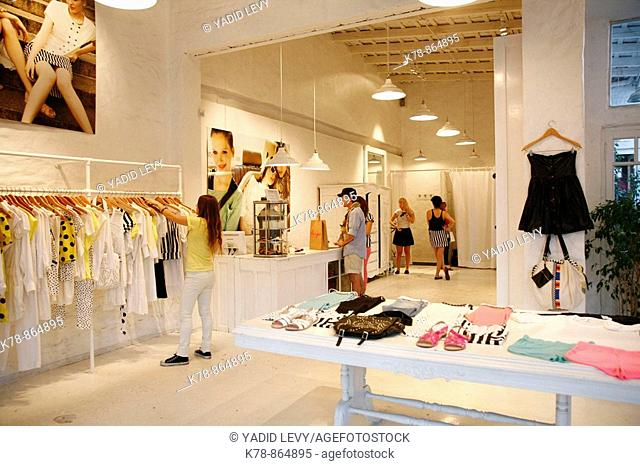 Lupe Fashion shop in the trendy area of Palermo Viejo known as Soho  Buenos Aires, Argentina