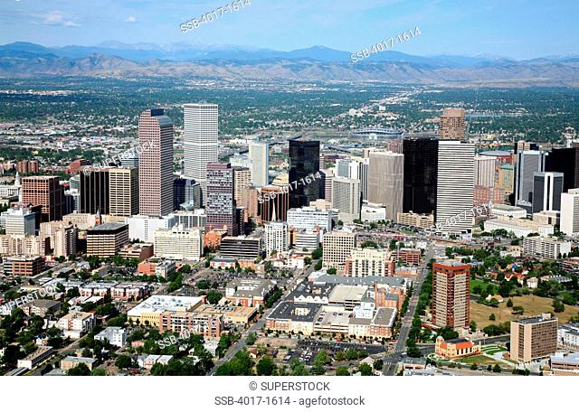 Uptown District of Downtown Denver