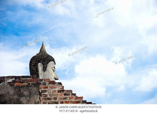 Ancient building at Ayutthaya World Heritage site, Thailand