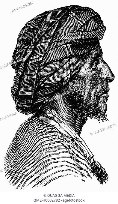 Portrait of an Arab from Aden