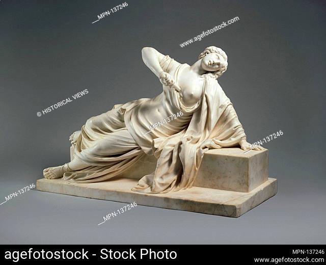 Lucretia. Artist: Philippe Bertrand (French, 1663-1724); Date: 1704 or earlier; Culture: French, probably Paris; Medium: Marble; Dimensions: confirmed: 27 1/2 x...