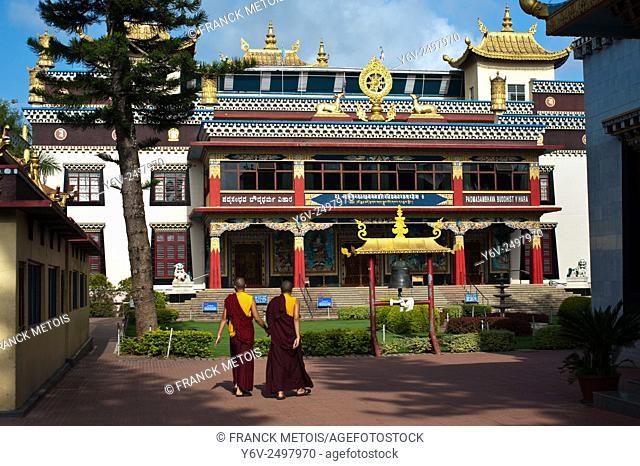 The Golden temple ( a tibetan buddhist temple) at Bylakuppe ( Karnataka, India)