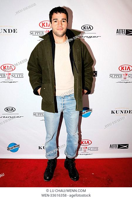 Sundance Film Festival 2018 - 'Tyrel' - Premiere Party Featuring: Christopher Abbott Where: Park City, Utah, United States When: 21 Jan 2018 Credit: Lu...