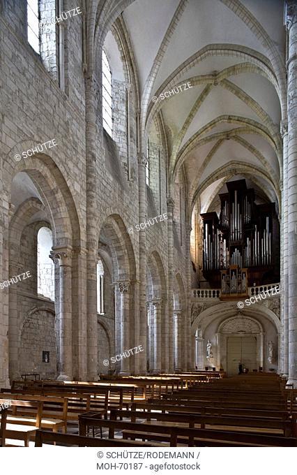 Saint-Benoit-sur-Loire, Abteikirche