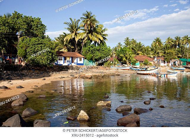 Palolem beach, Palolem, Goa, India, Asia