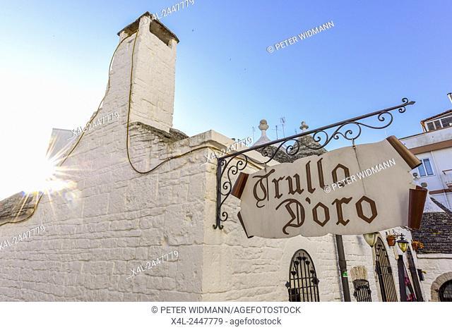 Trullo d Oro, Trulli, Alberobello, Apulia, Italy, UNESCO World Heritage Site