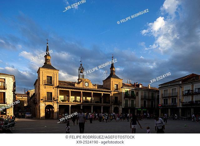 Plaza Mayor (Main Square), El Burgo de Osma, Soria, Spain