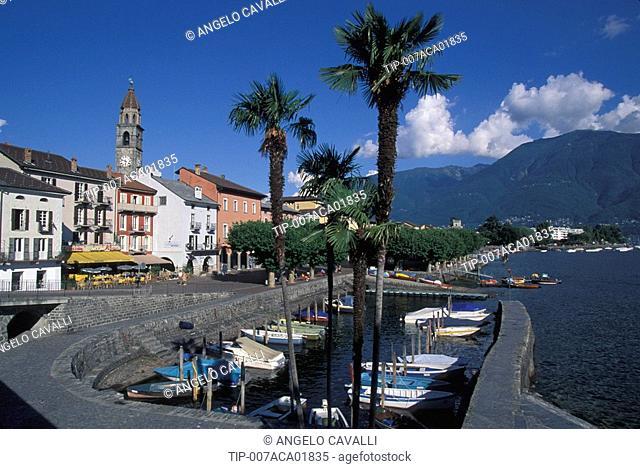 Switzerland, Canton Ticino, Lake Maggiore, Ascona