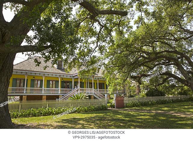 house of Laura Plantation La Vacherie Louisiana