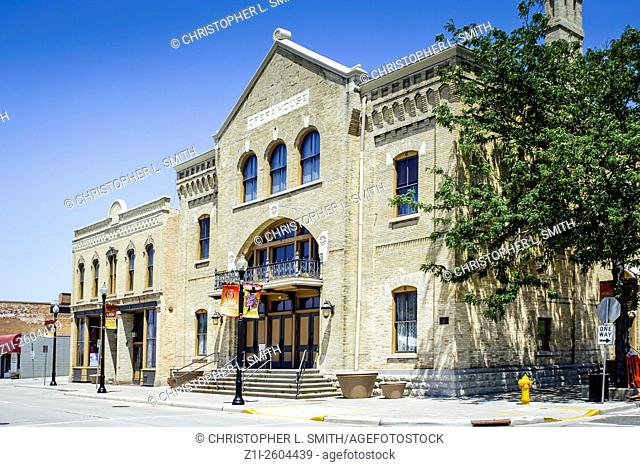 The Theater in downtown Oshkosh Wisconsin WI