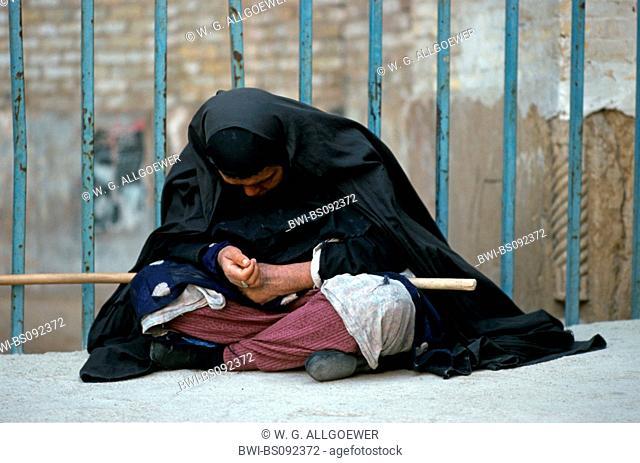 Beggar, Iran, Isfahan