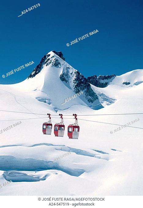 Montblanch Mountain, Chamonix. France