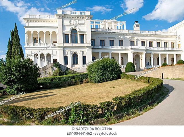 Livadia palace in Yalta