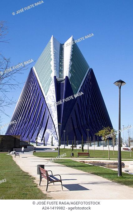 Spain, Valencia Comunity, Valencia City, The City of Arts and Science built by Calatrava, The Agora
