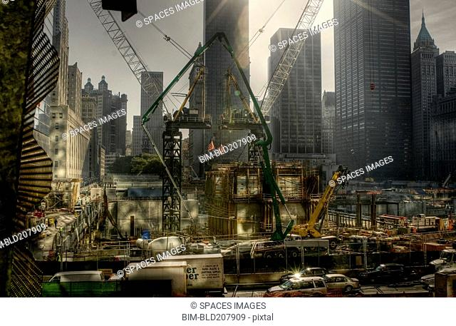 Rebuilding From Ground Zero in New York City