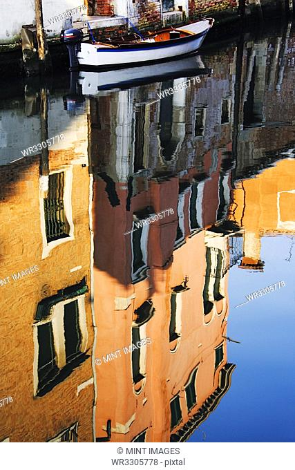 Reflections of Building in Canal