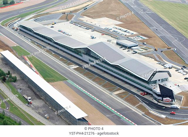 New Silverstone Pit, Paddock Complex, Silverstone, England