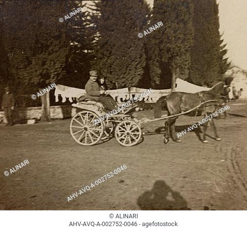 Album of the First World War in Friuli-Venezia Giulia: visit of the Marquise at Villa Brazzà, home to 17 of the Hospital of war in Soleschiano Manzano