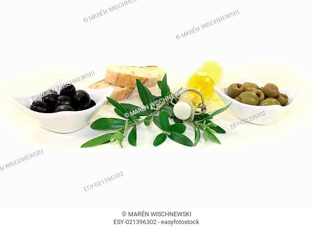 Olivenölflasche