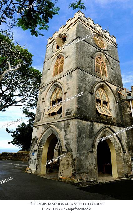 St  John's Parish Church Bridgetown Barbados Caribbean Cruise NCL